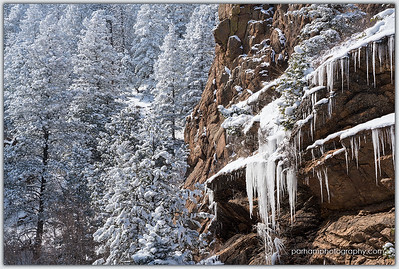 Icicles - North Cheyenne Canyon