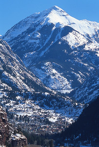 Ouray Beneath Mount Abrams