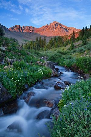 Sunrise along Pine Creek  (MB-10025-27)