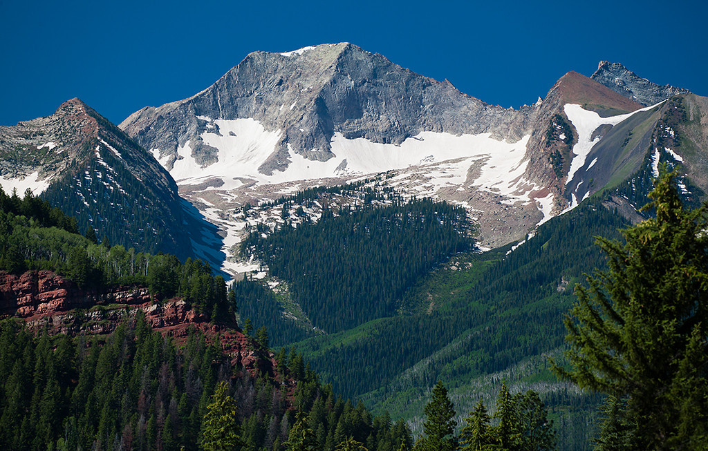 (WC-11003)  12,721' Chair Mountain in the West Elk Mountains.