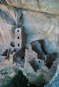 (E054)  Square Tower House - Mesa Verde