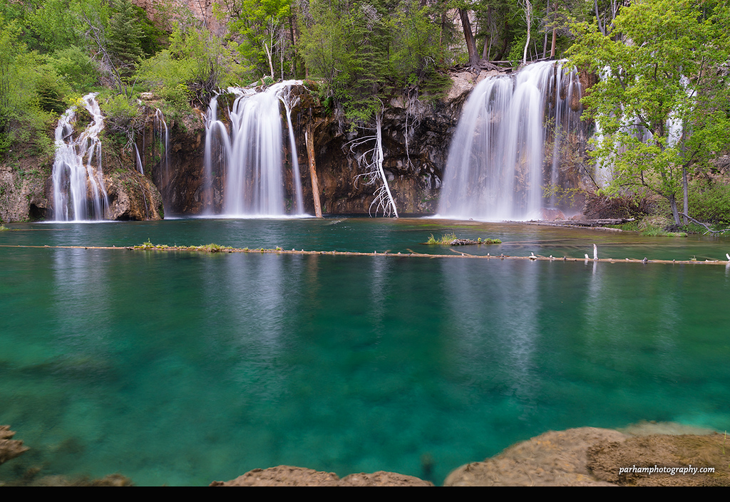 Springtime at Hanging Lake  (NO-17015)