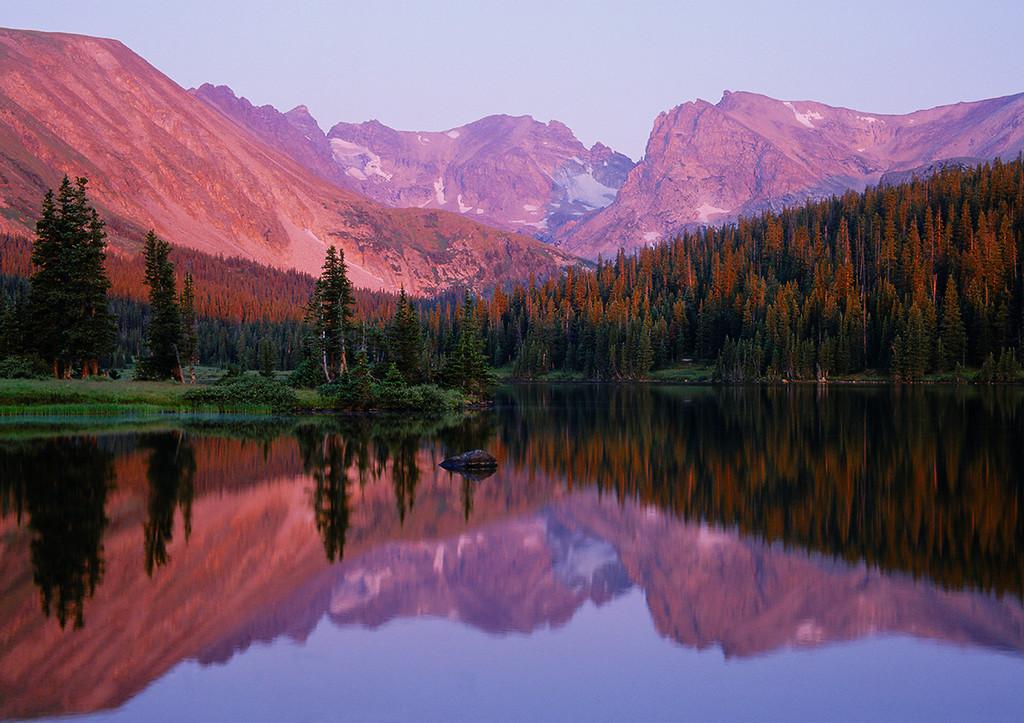 (G078) Long Lake at Sunrise