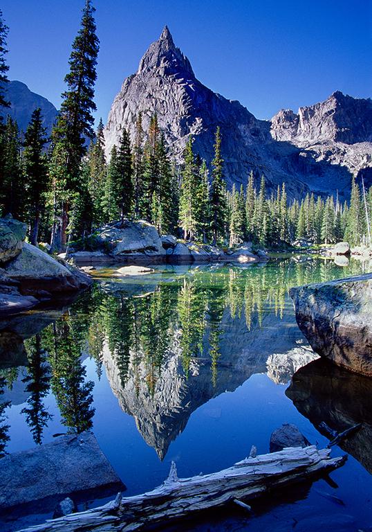 (Xc016)  Lone Eagle Peak - Indian Peaks Wilderness