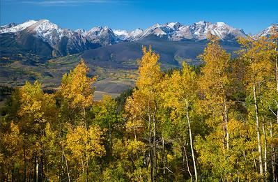 (NO-13363)  Gore Range View in Autumn
