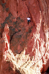 (D035)  Rock Climber - Garden of the Gods