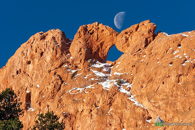 Kissing Camels Moonset (PP-06202)