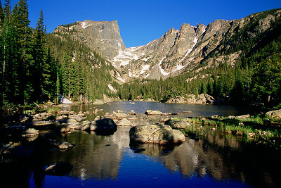 (J029)  Hallett Peak & Dream Lake