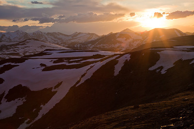 (RM-09086)  Sunset on Trail Ridge