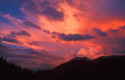 (E006)  Porphyry Gulch Sunset