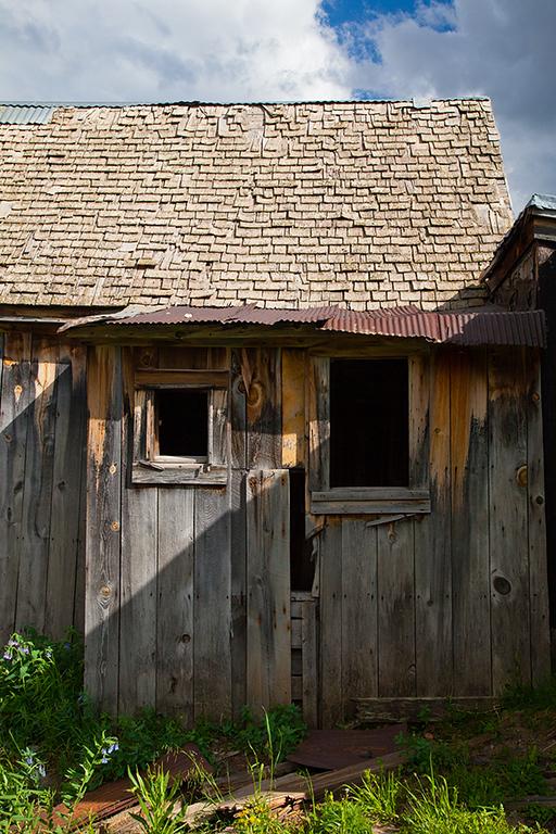 (SJ-11294)  Ghost Cabin in Animas Forks