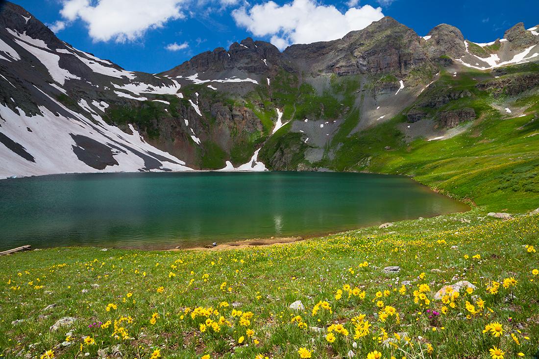 (SJ-11245)  Clear Lake in July