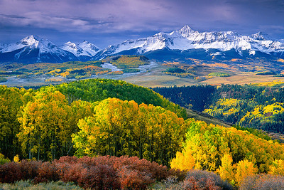 (I070)  Autumn in the Rockies - San Miguel Range