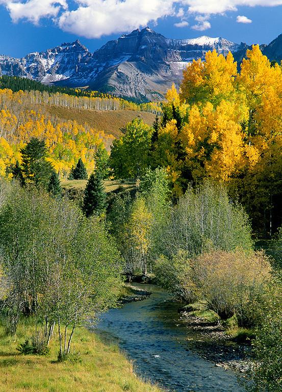 (E041)  Dallas Creek in Autumn