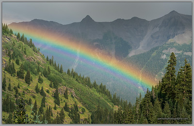 Rainbow in the San Juans  (SJ-18065)