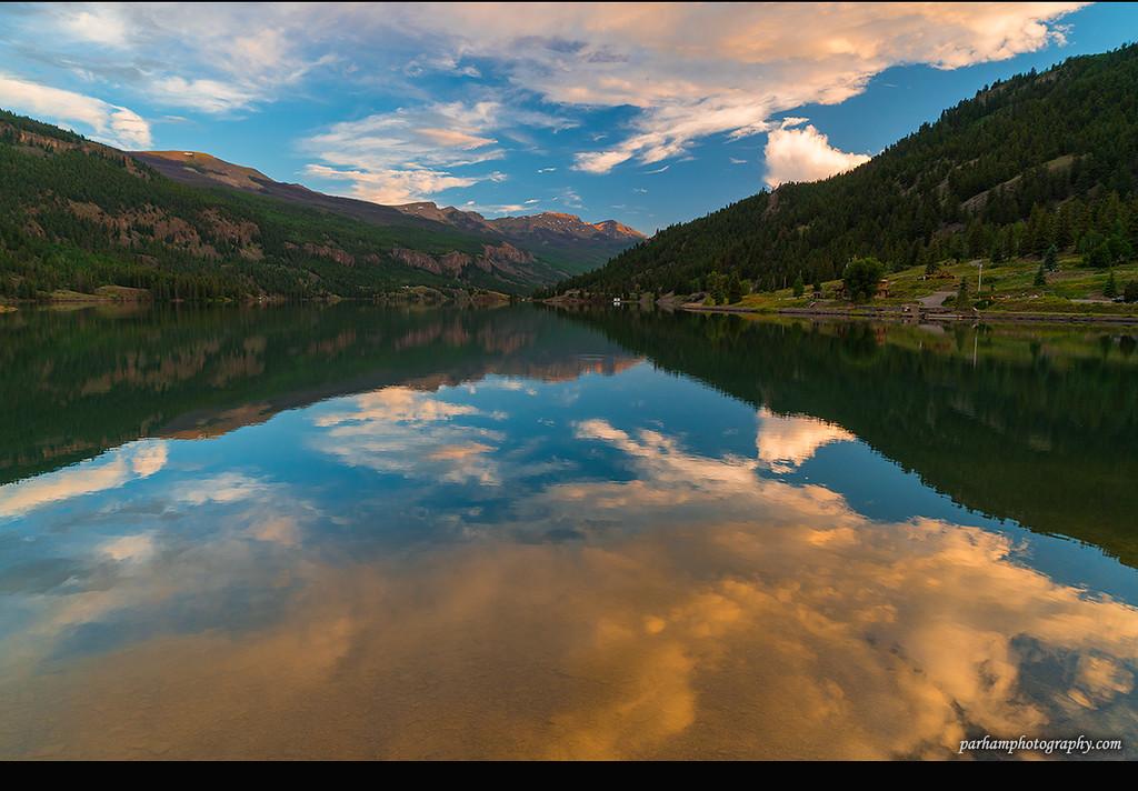 Lake San Cristobal at Sunset  (SJ-16072)
