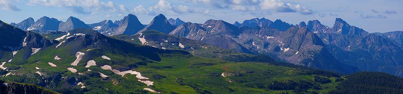 Grenadier Range Panorama