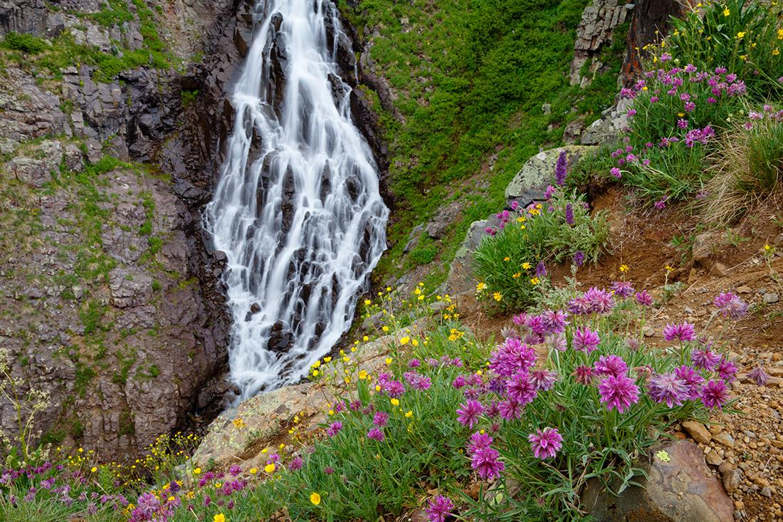 (SJ-11466)  Clear Lake Falls