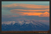 (SC-13010)  Sierra Blanca Massif at sunset viewed from San Luis Valley