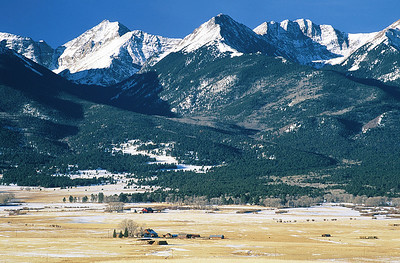 (B026)  Wet Mountain Valley and Sangre de Cristo Range