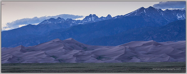 Evening Dunes Panorama  (GS-19141)
