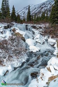 Monte Cristo Creek - Winter  (CM-19572)
