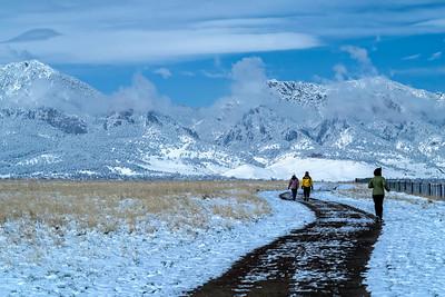 A Brisk Walk on Davidson Mesa