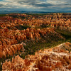 Hoodoos of Bryce Canyon during late afternoon
