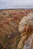 "A ""bird's eye"" view of Red Canyon; Colorado National Monument."