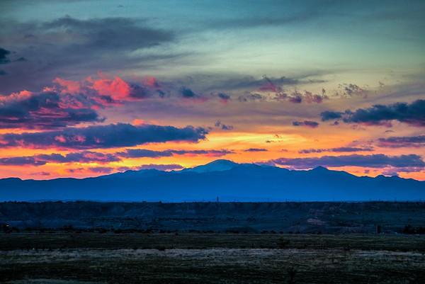 17_0523 Pueblo Backyard Sunset