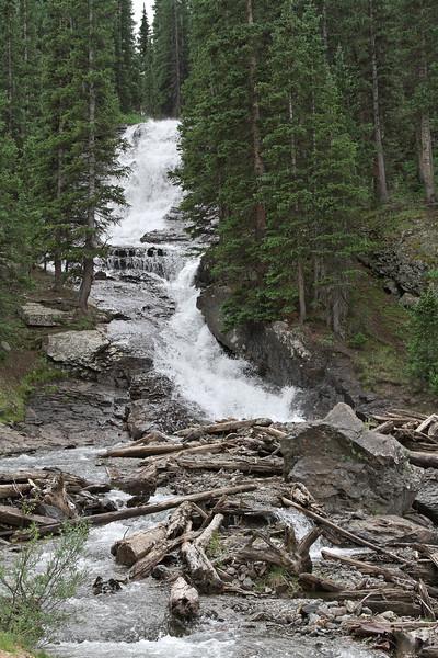 Waterfall along Imogene Pass