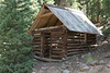 Old mining cabin on Minnie Gulch