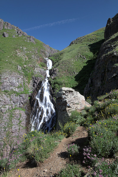 Waterfall on the way up to Clear Lake.