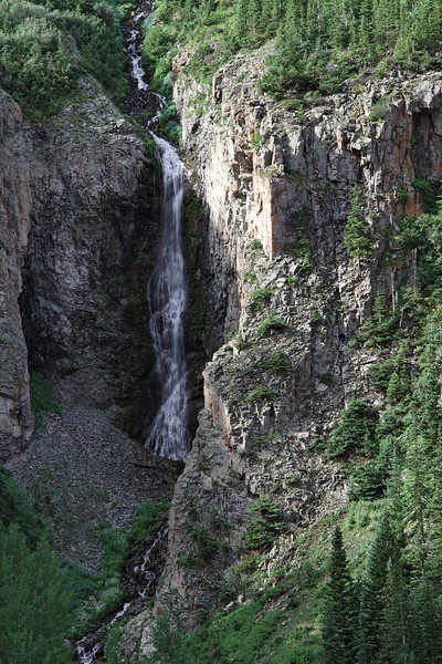 A 2nd waterfall on Maggie Gulch.