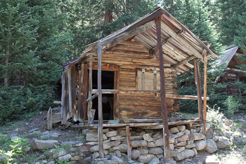 Old Mining Cabin on Minnie Gulch.