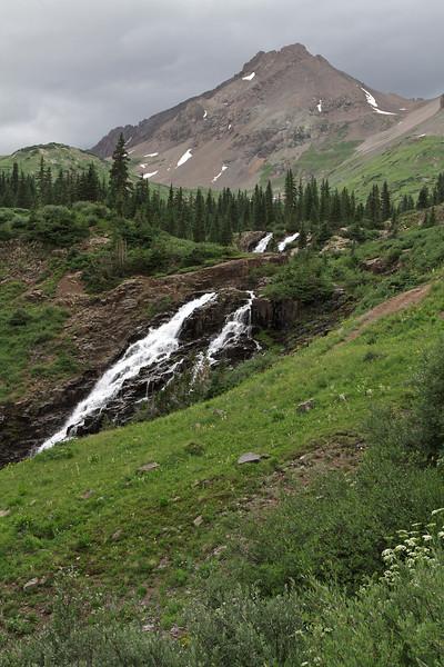 Waterfall in Yankee Boy Basin