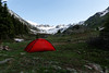 Camp site in American Basin.