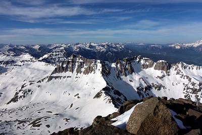 Handies & Mt. Sneffels Hiking/Camping June 19-22, 2015