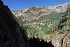 Ouray viewed from the Box Canyon Falls area.