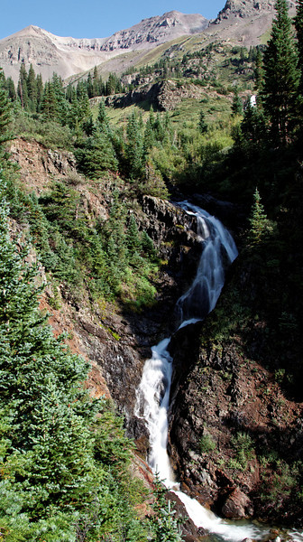 Waterfall as the start of Governor Basin.