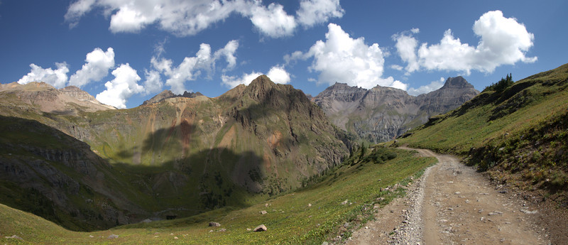 Descending from Governor Basin