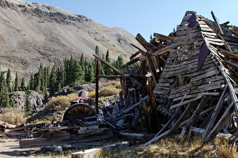 Mining ruins at Mineral Point