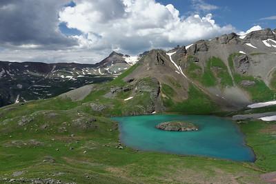 Day 1: Ice Lake & Island Lake Hike + Little Molas Lake
