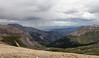 View from Imogene pass.  As always, we got rained on doing this trail.