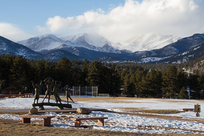 Winter 2014 - view from Estes Park