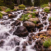Water Falls, Rocky Mountains, CO
