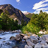 Cascade Falls near Mt Princeton Colorado