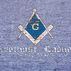 Amethyst Masonic Lodge #94 (building mural) - Creede, Mineral Co., CO