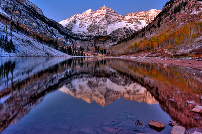 Maroon Bells, White Falls National Forest, Aspen, CO
