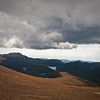 Taken form the window of the Cog Railway on my way to the top of Pikes Peak.